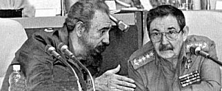 The Fidel and Raul Castro brothers. Fidel ask the soviet embassador for the MiG-29