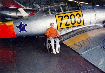 Piercy and a SAAF Harvard